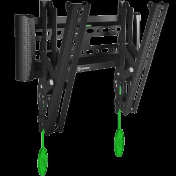 "ONKRON кронштейн для телевизора 17""-37"" наклонный, чёрный SN12"