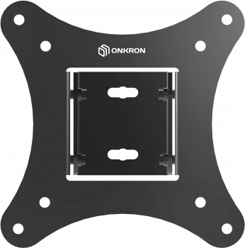 "ONKRON кронштейн для телевизора 10""-32"" наклонный, чёрный SN31"