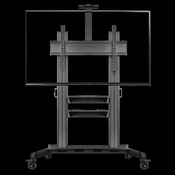 """ONKRON стойка для телевизора с кронштейном 60""""-100"""", мобильная, чёрная TS2811"""