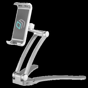 ONKRON держатель для смартфонов и планшетов настольный, серебристый DS-01