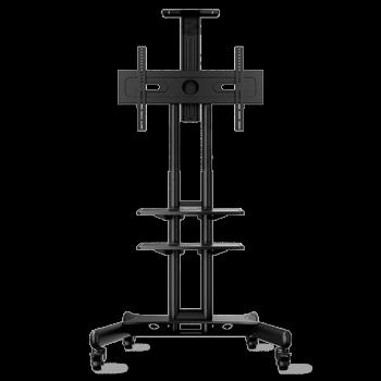 """ONKRON стойка для телевизора с кронштейном 32""""-65"""", мобильная, чёрная TS1552"""