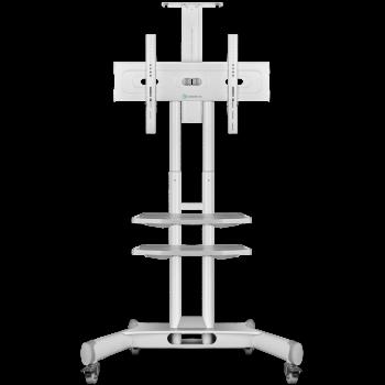 """ONKRON стойка для телевизора с кронштейном 40""""-70"""", мобильная, белая TS1552"""