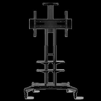 """ONKRON стойка для телевизора с кронштейном 50""""-86"""", мобильная, чёрная TS1881"""