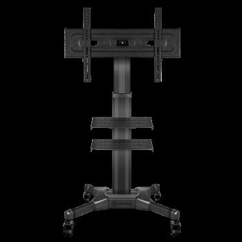 """ONKRON стойка для телевизора с кронштейном 32""""-55"""", мобильная, чёрная TS2551"""