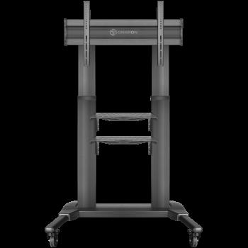 """ONKRON стойка для телевизора с кронштейном 50""""-82"""", мобильная, чёрная TS2771"""