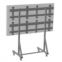 Комплект напольный Tilt Up для видео стен на 6 экранов ONKRON FSPRO3L-22, чёрный - вид 3 миниатюра