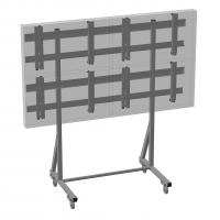 Комплект напольный Tilt Up для видео стен на 6 экранов ONKRON FSPRO3L-22, чёрный - вид 4 миниатюра