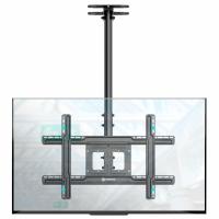 """ONKRON потолочный кронштейн для телевизора 32""""-70"""" потолочный телескопический, чёрный N1L - вид 1 миниатюра"""