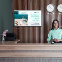 """ONKRON потолочный кронштейн для телевизора 32""""-70"""" потолочный телескопический, чёрный N1L - вид 4 миниатюра"""