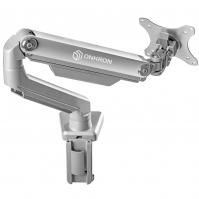 "ONKRON кронштейн для монитора 13""-32"" настольный, серебристый MS80 - вид 12 миниатюра"
