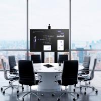 """ONKRON стойка для телевизора с кронштейном 55""""-100"""", мобильная, чёрная TS2210 - вид 7 миниатюра"""