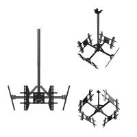 "ONKRON потолочный кронштейн для 4 телевизоров 32""- 55"" CPRO2L-4 чёрный - вид 1 миниатюра"