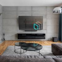 """ONKRON кронштейн для телевизора 43""""-85"""" наклонный, чёрный SN16 - вид 7 миниатюра"""