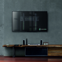 "ONKRON кронштейн для телевизора 32""-55"" фиксированный, чёрный FM5 - вид 7 миниатюра"