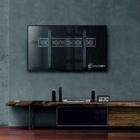 "ONKRON кронштейн для телевизора 40""-65"" фиксированный, чёрный FM6 - вид 7 миниатюра"