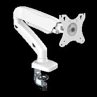 """ONKRON кронштейн (держатель) для монитора 13""""-27"""" дюймов настольный, белый G80 - вид 1 миниатюра"""