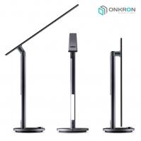 Настольный светильник ONKRON D5A тёмно-серый - вид 1 миниатюра