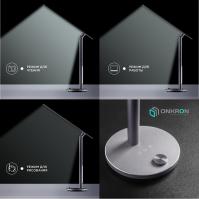 Настольный светильник ONKRON D5A тёмно-серый - вид 3 миниатюра