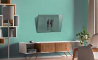 """ONKRON кронштейн для телевизора 17""""-43"""" наклонный, чёрный SN22 - вид 7 миниатюра"""