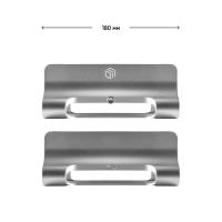 """ONKRON Подставка (держатель) для ноутбука 10""""-15,8"""", серебристая DN-02 - вид 4 миниатюра"""