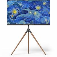 """ONKRON стойка для ТВ и сенсорных панелей 32""""-65"""", чёрный TS1220 - вид 1 миниатюра"""