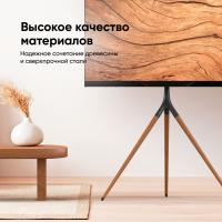"""ONKRON стойка для ТВ и сенсорных панелей 32""""-65"""", чёрный TS1220 - вид 7 миниатюра"""