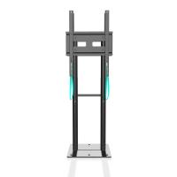 """ONKRON стационарная стойка для двух экранов 40""""-70"""", черный FPRO2L-20 - вид 2 миниатюра"""