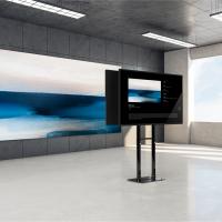"""ONKRON стационарная стойка для двух экранов 40""""-70"""", черный FPRO2L-20 - вид 5 миниатюра"""