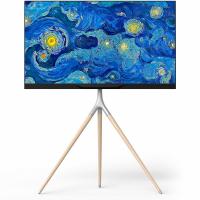 """ONKRON стойка для ТВ и сенсорных панелей 32""""-65"""", белый TS1220 - вид 1 миниатюра"""