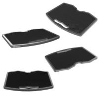 ONKRON полка для мобильной стойки, черный APT-1551 - вид 1 миниатюра