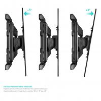 """ONKRON кронштейн для телевизора 32""""-60"""" наклонно-поворотный, чёрный M15 - вид 3 миниатюра"""