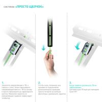 """ONKRON кронштейн для телевизора 17""""-37"""" наклонный, чёрный TM4 - вид 5 миниатюра"""
