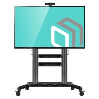 """ONKRON стойка для телевизора с кронштейном 60""""-100"""", мобильная, чёрная TS2811 - вид 1 миниатюра"""