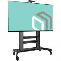 """ONKRON стойка для телевизора с кронштейном 60""""-100"""", мобильная, чёрная TS2811 - вид 2 миниатюра"""