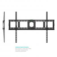 """ONKRON кронштейн для телевизора 40""""-80"""" фиксированный, чёрный UF4 - вид 2 миниатюра"""