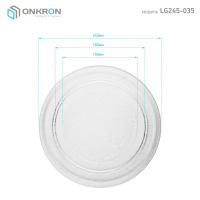 ONKRON тарелка для СВЧ LG 3390W1A035A 24,5 см - вид 2 миниатюра