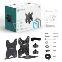 ONKRON универсальный кронштейн для mini PC/Mac mini, чёрный A3N - вид 9 миниатюра