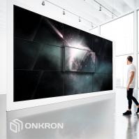 Кронштейн Push Up для видео стен ONKRON PRO4L, чёрный - вид 5 миниатюра