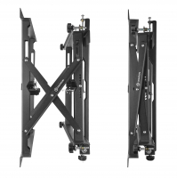 Кронштейн Push Up для видео стен ONKRON PRO4XL, чёрный - вид 3 миниатюра