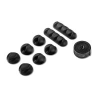 ONKRON набор крепежа для проводов CM1, чёрный - вид 2 миниатюра