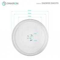 ONKRON тарелка для СВЧ DAEWOO KOR-610S 25,5 см - вид 3 миниатюра