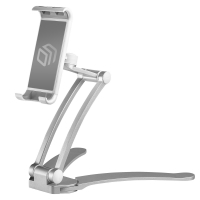 ONKRON держатель для смартфонов и планшетов настольный, серебристый DS-01 - вид 1 миниатюра