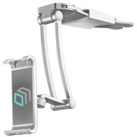 ONKRON держатель для смартфонов и планшетов настольный, серебристый DS-01 - вид 2 миниатюра