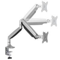 """ONKRON кронштейн для монитора 17""""-32"""" настольный, серебристый G100 - вид 5 миниатюра"""