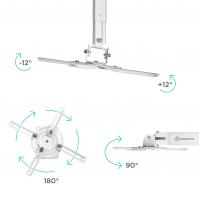 ONKRON кронштейн для проектора потолочный, белый K5A - вид 3 миниатюра
