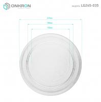 ONKRON тарелка для СВЧ LG 3390W1A035A 24,5 см - вид 3 миниатюра