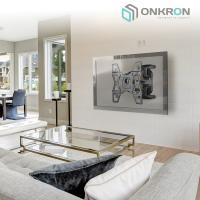 """ONKRON кронштейн для телевизора 32""""-60"""" наклонно-поворотный, чёрный M15 - вид 7 миниатюра"""