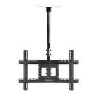 """ONKRON потолочный кронштейн для телевизора 32""""-80"""" потолочный телескопический, чёрный N1L - вид 1 миниатюра"""