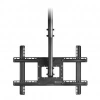 """ONKRON потолочный кронштейн для телевизора 32""""-80"""" потолочный телескопический, чёрный N1L - вид 10 миниатюра"""