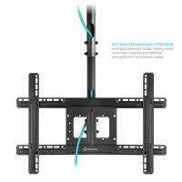 """ONKRON потолочный кронштейн для телевизора 32""""-80"""" потолочный телескопический, чёрный N1L - вид 5 миниатюра"""